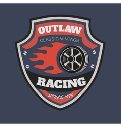 Sport racing typography t-shirt graphics vector