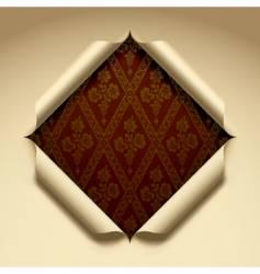 cut paper vector image