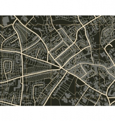 town map vector image vector image