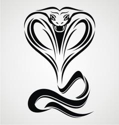 Cobra Snake Tribal vector image