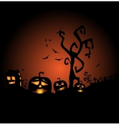 Halloween the most terrible and terrifying vector image vector image