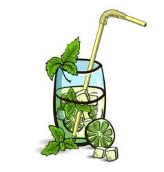 MojitoIsolated vector image