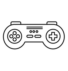 video game control isolated icon vector image vector image