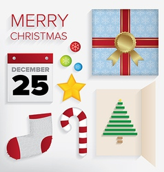 Merry Christmas Pack vector image