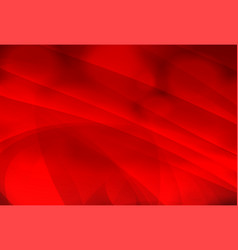 Red background with stripes swirl abstract vector