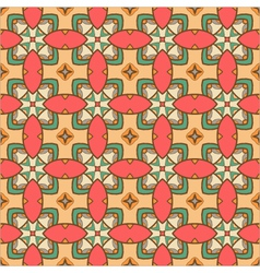 Seamless ornate geometric pattern abstract backgro vector
