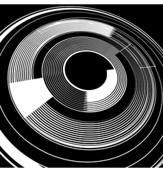 Spiral rotation vector