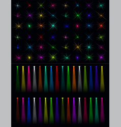 39 light stage bl vector image
