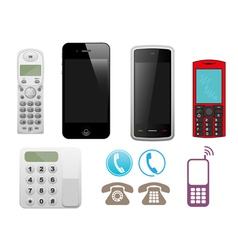 Different phone set vector