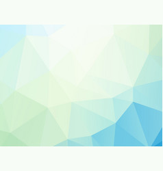 geometric soft green background vector image