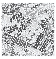 Holiday Scams and Thieves Exposed text background vector