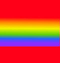 Lgbt flag background rainbow colors vector