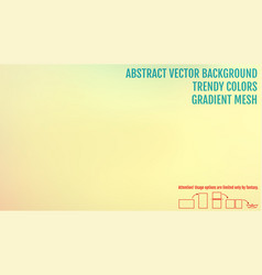 Nature backdrop abstract gradient mesh background vector
