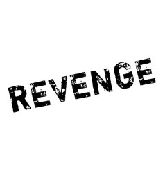 Revenge rubber stamp vector
