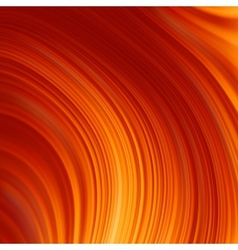 Abstract glow Twist background with golden flow vector image vector image