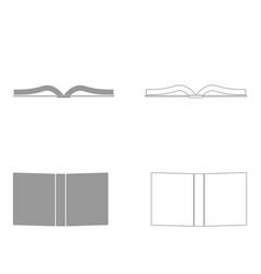 book set icon vector image
