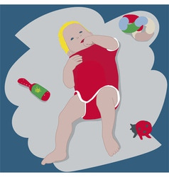 Baby vector image vector image