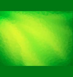 green geometric mosaic background vector image