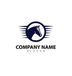 Horse logo 2 vector