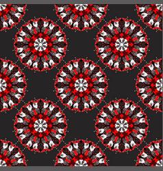 mandala vintage decorative elements seamless vector image