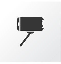 selfie stick icon symbol premium quality isolated vector image