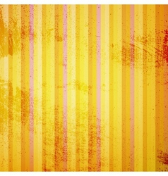 Yellow Striped Grunge vector image
