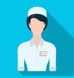 medical staff in the hospital medicine single vector image