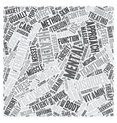 mental health care 1 text background wordcloud vector image