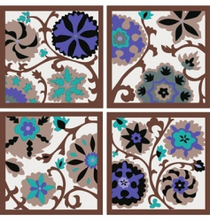 background flowers vector image vector image