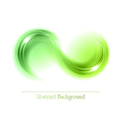 abstract shape smoke vector image vector image