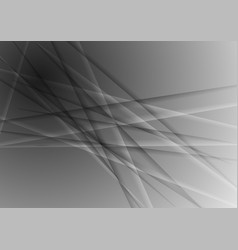 dark grey abstract concept stripes background vector image