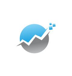 Digital business investment marketing vector