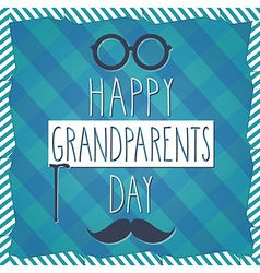 Grandparents poster vector image