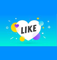 like speech bubble notifications icon vector image