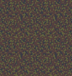 Military camouflage seamless pixel pattern vector