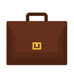 portfolio briefcase isolated icon vector image