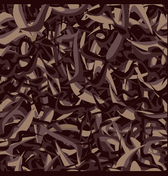 Seamless texture of black tea assam vector