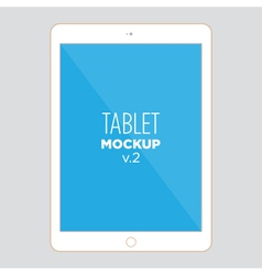 tablet mockup v2 vector image