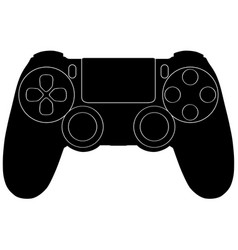 Video game controllers vector