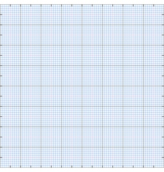 Graph paper grid background vector image vector image