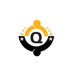 Success life coaching initial q vector