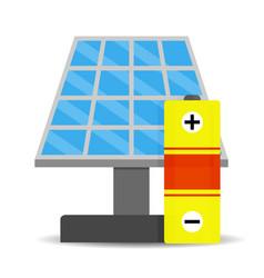 Accumulation solar energy vector