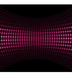 pink black vector image