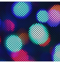 Abstract light mosaic vector image