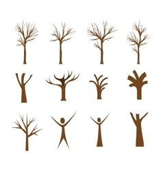 Conceptual tree design vector