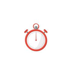 flat stopwatch element of vector image