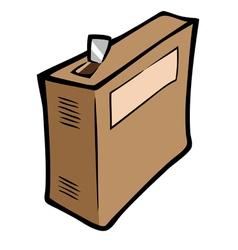 Food ingredients box vector