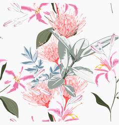 Greenery seamless pattern vector