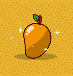 mango nutrition diet fresh image vector image