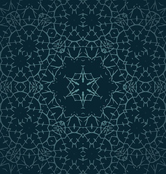 Ornament oriental background with tribal elements vector